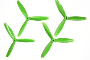 Hélices TJ6045 Tripales Vert (2cw+2ccw) Dalprop