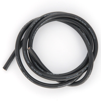 Cable 10AWG Noir (5.27mm²) silicone super souple - 1m