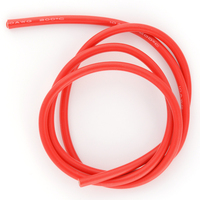 Cable 10AWG Rouge (5.27mm²) silicone super souple - 1m