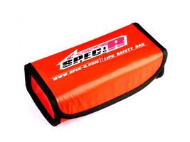 Sac de protection Rouge pour Lipo Spec-R  19X9X7cm