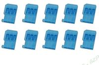 Boitier Bleu fiche Futaba mâle  (X10)