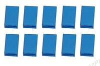 Boitier Bleu fiche Futaba Femelle  (X10)