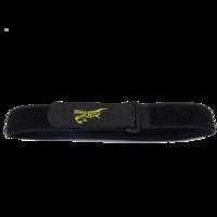 Sangle lipo Tattu noir et jaune 55cm X 2.5cm