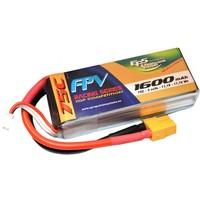 Lipo 1600 mAh 75C 3S EPS