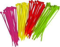Colliers Rilsan Vert Fluo (X20)