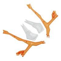 Protection de led Orange pour Vista FPV de Dromida