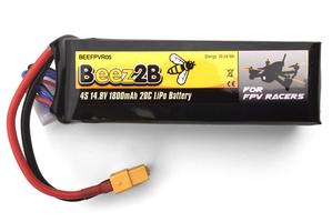 Batterie Lipo 4S 14.8v 1800mAh 20c pour FPV racer