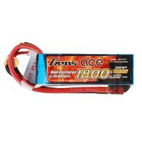 Gens ace1800mAh 11.1V 40C 3S1P Dean-T