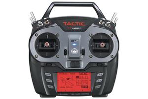 Radio 8 voies TTX850 avec recepteur Tactic