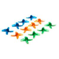 Jeu de 12 hélices multicolore  pour le Blade Inductrix FPV