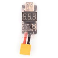 Adaptateur XT60 vers USB 5V avec voltmetre (3A) lipo 2-6S
