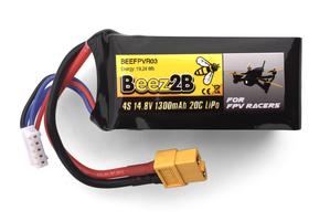 Lipo 1300mAh 20c 4S 14.8v pour FPV racer