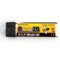 Lipo 1s 180mAh 45C (mcx, inductrix etc..) Beez2B