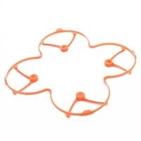 Protection Hélices de couleur orange pour Hubsan H107L