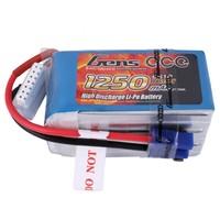 Lipo 1250mAh  22.2V 60C 6S1P Gens Ace