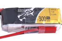 Lipo 300mAh 7.4V 45C 2S1P Tattu