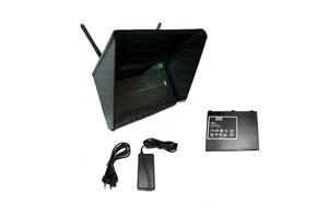 Ecran LCD 7 pouces Black Pearl Long Range* avec récepteurs diversity 5.8 Ghz 32ch avec batterie.