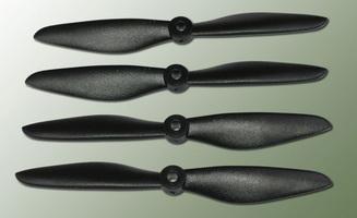 Hélice PTK (2 paires CW+ CCW) 6x4.5W noir