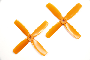 Hélices CW 4X4X4RO HQProp (X2)