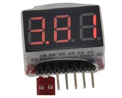 Controleur de batterie - BatteryMaster Light - Li-Po -  Li-Ion - Li-Fe