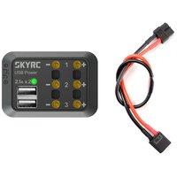 Distributeur de puissance fiche XT60 (max 10A + USB5V 2,1A)