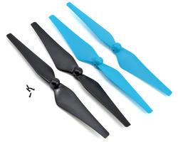 Kit 4 hélices Bleu / Noire Ominus FPV Dromida