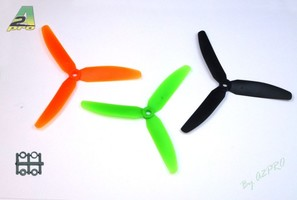 Hélice Tripale 7x3.5 Orange Gemfan