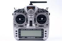 Radio Taranis X9D+ avec EVA Case Mode 2 Fr-Sky