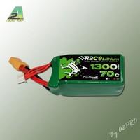 Lipo 1300 70C 4S XT60 Race Lithium Pro-Tronik