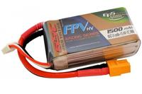 Lipo 1500 mAh High voltage 65C 3S EPS