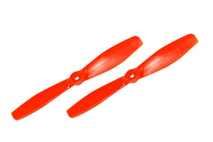 Hélice fibre SF 6x4,5 1/2 bullnose orange Gemfan (x2)
