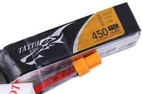 Lipo 450mAh 75C 3S Tattu Pack Long Size pour châssis en H