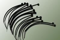 Collier nylon noir 2,5x100mm (20 pcs)
