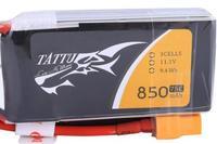 Lipo 850mAh 11.1V 75C 3S1P Tattu - XT30