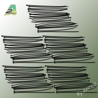 Collier nylon noir 2,5x200mm (100 pcs)