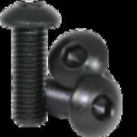 Vis acier tête bouton M3 x 6mm (x10)