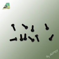 Vis TC nylon noire M3x10 (10 pièces)
