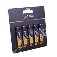 Pack de 5 lipos 220 mAh 45C 1S (Molex / MX Eflite ) Tattu