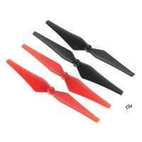 Hélices Rouges et Noires pour Vista UAV Dromida (X4)