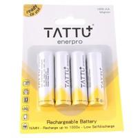 Batterie AA NiMH Tattu - 1.2V 2100 mAh x4