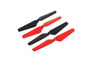 Kit 4 hélices Rouge / Noire Ominus FPV Dromida