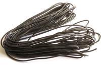 Cable 22AWG Siliconé noir - 1m