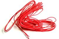 Cable 22AWG Siliconé rouge - 1m