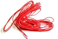 Cable 20AWG Siliconé rouge - 1m