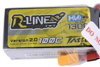 R-Line 1300mAh HV 100C 4S1P 15.2V V2 -Tattu