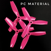 HQ Durable Prop série S 5X4X3 Pink - Polycarbonate