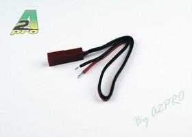 Cordon accu femelle JST/Bec 17cm - câble 0.30mm² (10 pièces)