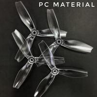 HQ Durable Prop série S 5X4X3 Clear - Polycarbonate