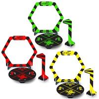 Mini gates - flags et base pour nano RACER FPV (jaune, vert et rouge)