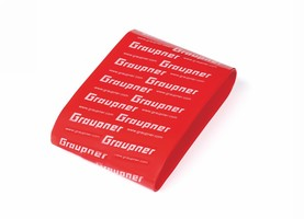 Gaine Thermo 45mm - 1m rouge Graupner